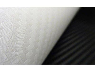 3d karbonovy vzor biela farba Taishifolie