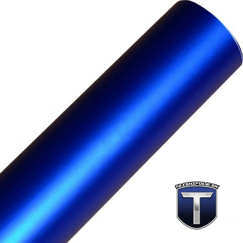 Modry matny chrom folia rolka TaishiFolie