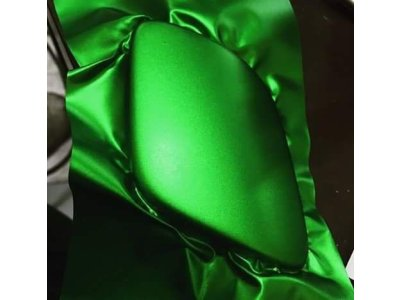 zelena matna chromova folia odstrekovace TaishiFolie