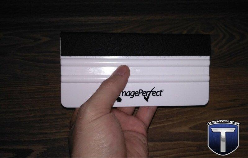 Plastova stierka s filcom XL Image Perfect 15x7,5cm TaishiFolie