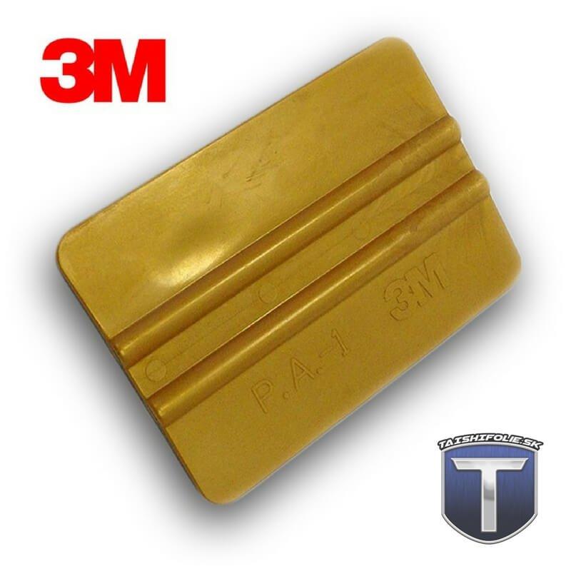 3M zlatá plastová stierka stredne tvrdá TaishiFolie