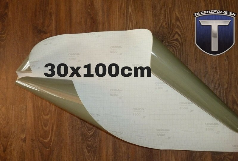 Oracal 30x100cm 074 slabo cierna folia na svetla TaishiFolie