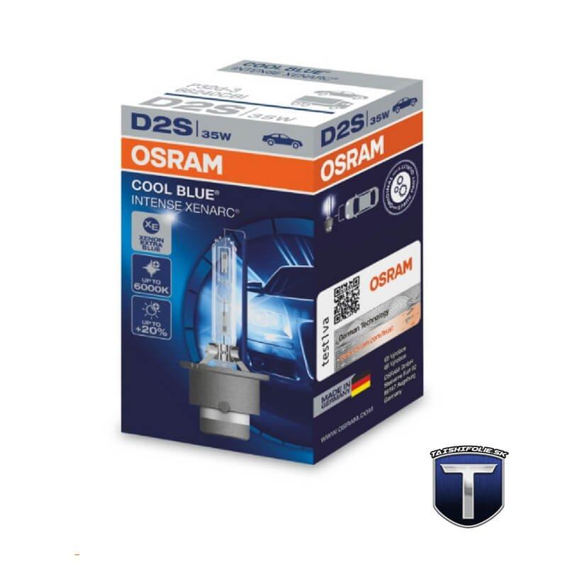 Xenonova vybojka D2S OSRAM Xenarc Cool Blue Intense TaishiFolie