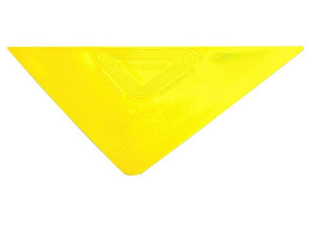 Tvrdá žltá trojuholníková stierka Tri-Edge OEM