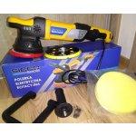 Orbitálna leštička 21mm Sicco Tools BLR 150 + 125mm unášač