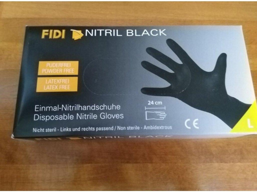 Nitrilové rukavice FIDI 100ks veľkosť L