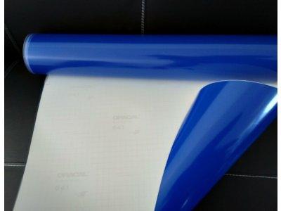 Kráľovská modrá 049 lesklá fólia Oracal 641 100x100cm