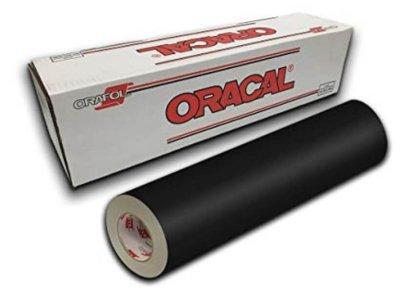 Čierna 070 matná fólia Oracal 641 kód 50x200cm