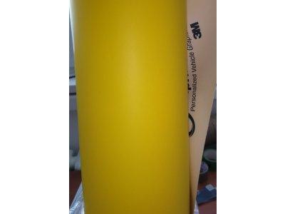 Žltá matná fólia 3M 1080 Matte Bright Yellow M15