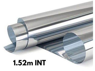 Zrkadlová fólia na okná Silver 20% interiérová 1,52x1m