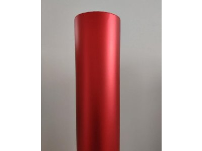 Matná červená chrómová fólia TAISHI