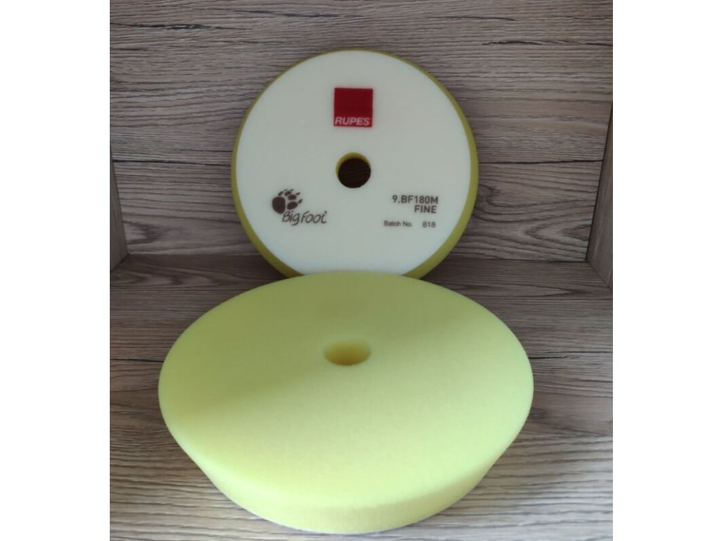 2ks Mäkký žltý finišovací kotúč Fine Yellow 150/180mm Rupes