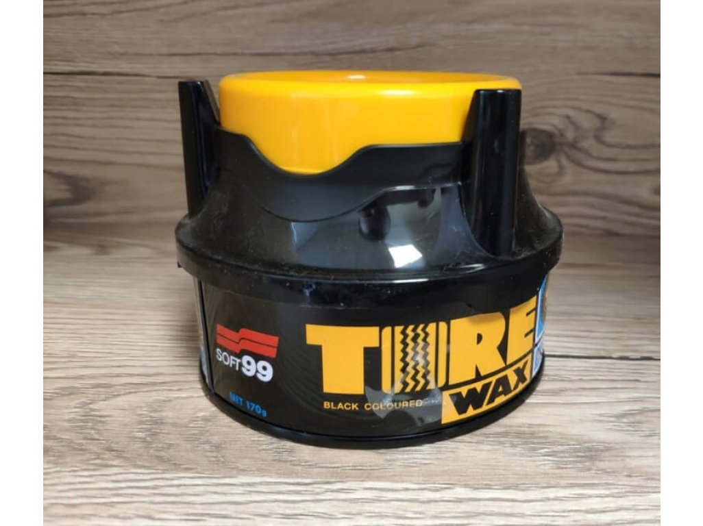 Tvrdý vosk na pneu Tire Black Wax Soft99