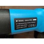 Orbitálna leštička 8mm DAS-6 Pro + 75mm unášač + taška