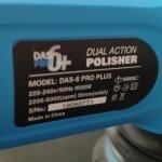 Orbitálna leštička 15mm DAS-6 Pro Plus v2 + taška
