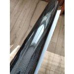Čierna lesklá farebná metalická Oracal 970RA Black Galactic Gold