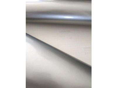 Strieborná 090 lesklá fólia Oracal 641 50x200cm
