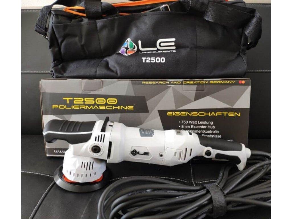 Orbitálna leštička 8mm T2500 Liquid Elements + 75mm unášač + taška