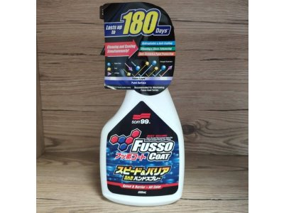 Fusso Coat Speed & Barrier 500ml Soft99