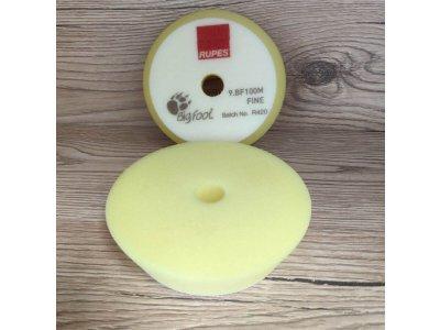 2ks Mäkký žltý finišovací kotúč Fine Yellow 80/100mm Rupes