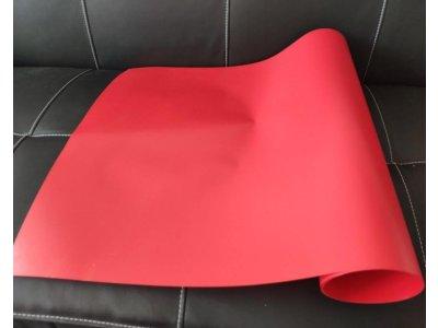 Červená nažehľovacia fólia 50cm Poli-flex Premium