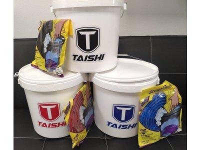 Tri vedrá Taishi so separátormi ScratchShield