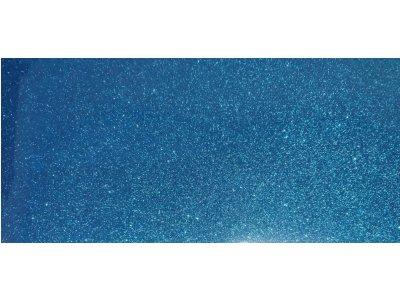 Trblietavá modrá nažehľovacia fólia 50cm Poli-flex Pearl Glitter