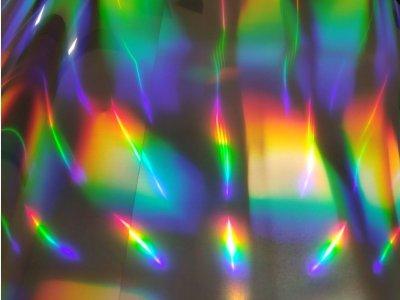 Farebná holografická nažehľovacia fólia 50cm Poli-flex Spectrum
