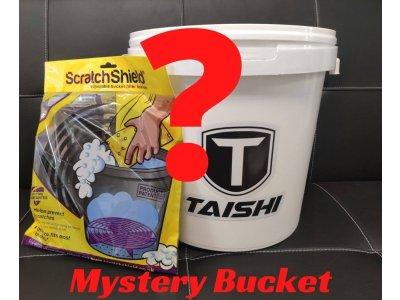 Záhadné vedro plné autokozmetiky Mystery Bucket Taishi