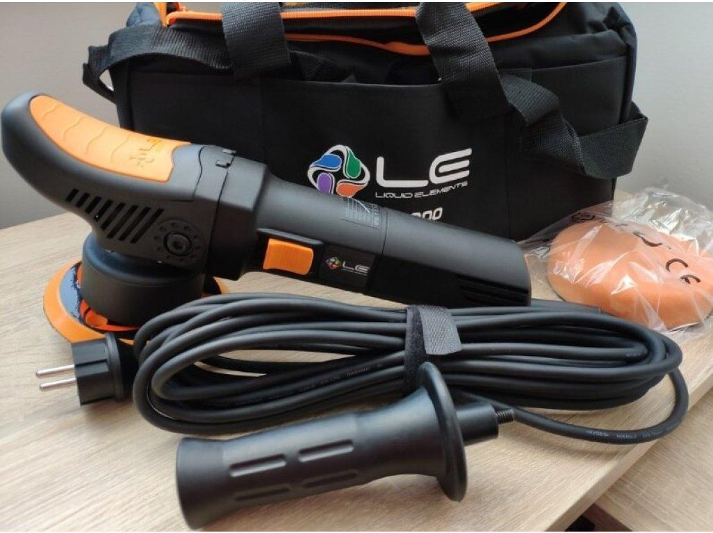 Orbitálna leštička 8mm Liquid Elements T2000 V3 + 75mm unášač + Taška