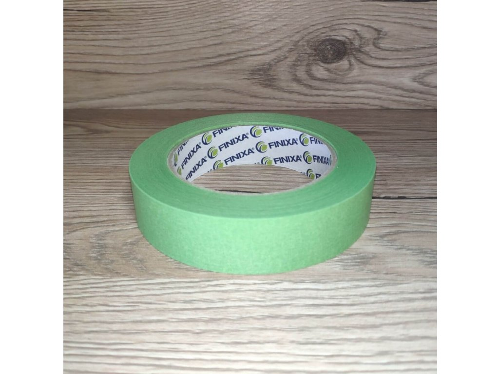 Zelená maskovacia páska 25mm Finixa
