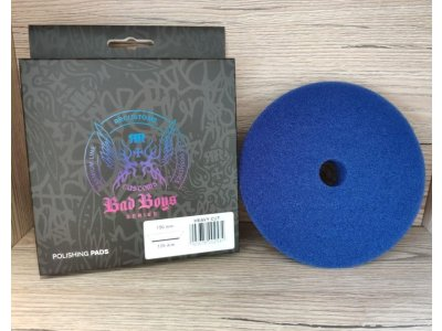 Tvrdý modrý rezací pad Heavy Cut Bad Boys 125/150mm
